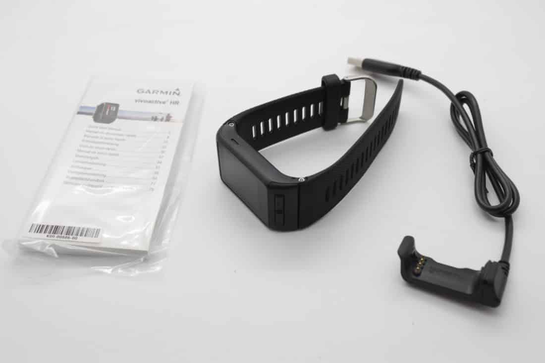vivoactive HR unboxing accessoires