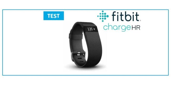 fitbit charge hr test