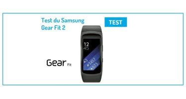 [Test] Samsung Gear Fit 2, une amélioration encore perfectible