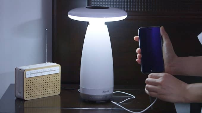 Roome lampe connectee smartphone