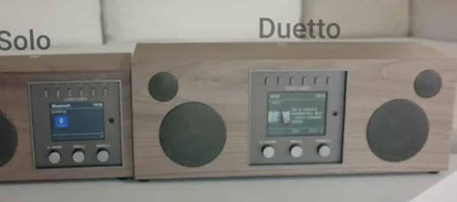 Solo Duetto radio connectée