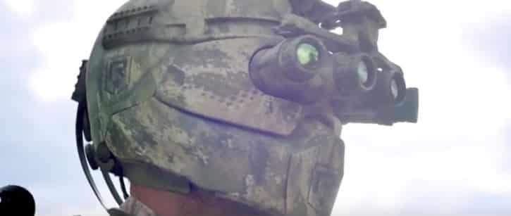 Le casque de l'armure Talos