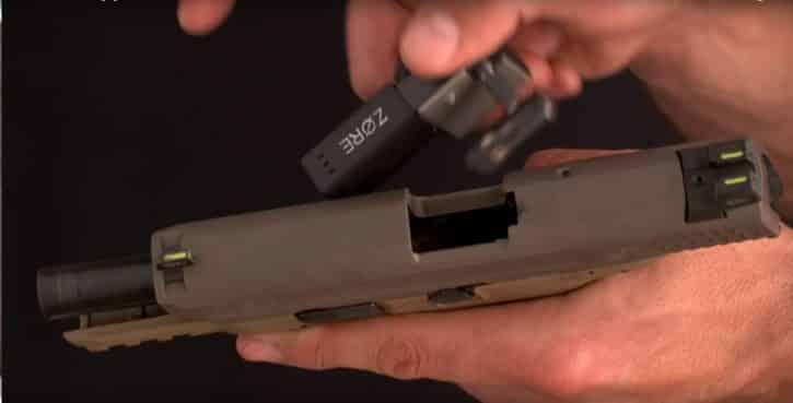 Zore mise en place arme a feu