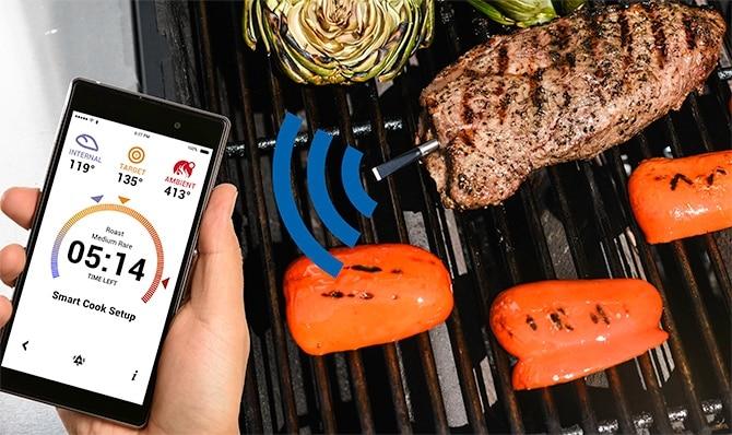 application meater thermomètre connecté