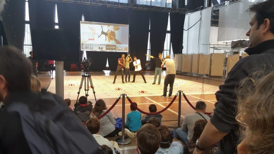 festival droles de drones animation parrot danse