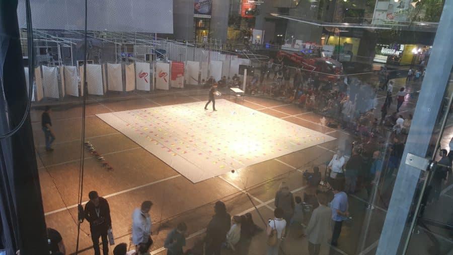 festival droles de drones espace de vol parrot