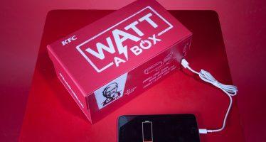 Grâce à KFC, rechargez votre portable quand vous mangez