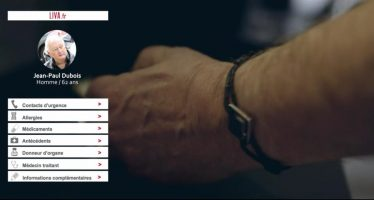 Liva, un bracelet connecté qui détient vos informations de santé