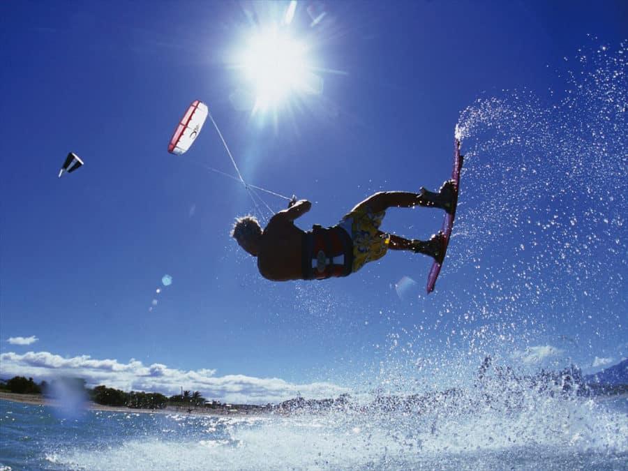 piq kitesurf soleil et mer
