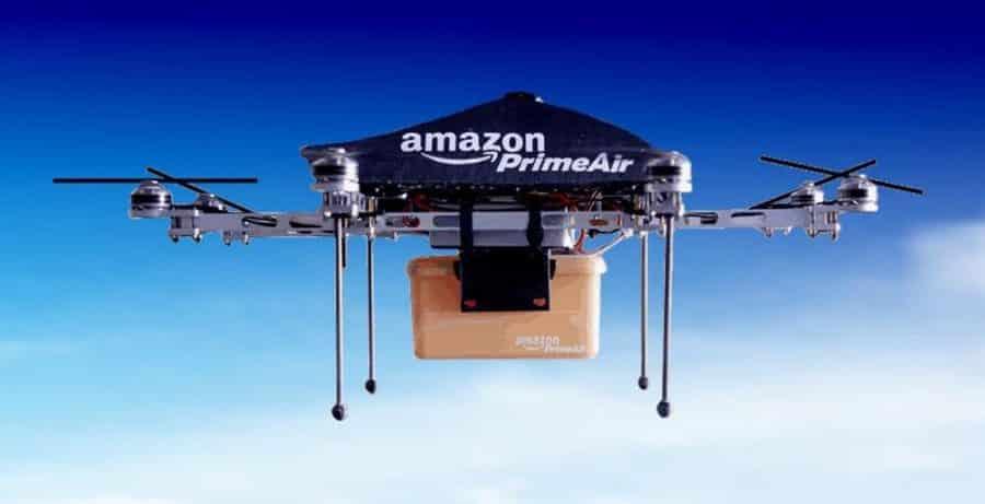publicite amazon drone
