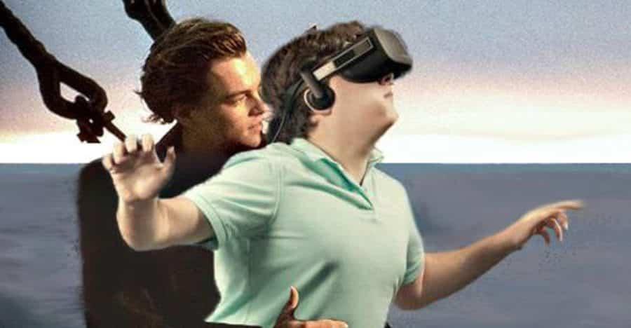 publicite realite virtuelle humour titanic