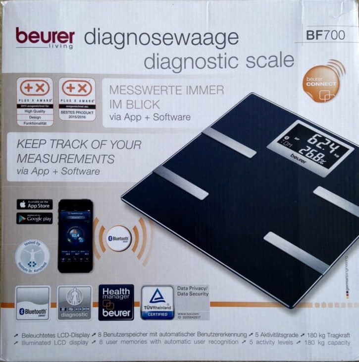 Unboxing Beurer BF700
