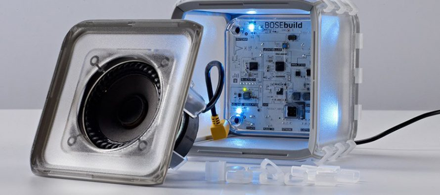 BoseBuild Speaker Cube, l'enceinte Bluetooth à monter soit même