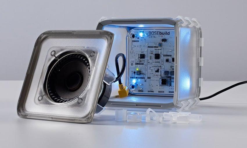 Bosebuild Speaker Cube L Enceinte Bluetooth A Monter Soit Meme
