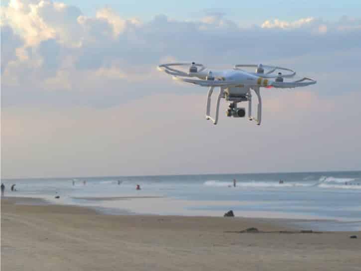 Drones secours