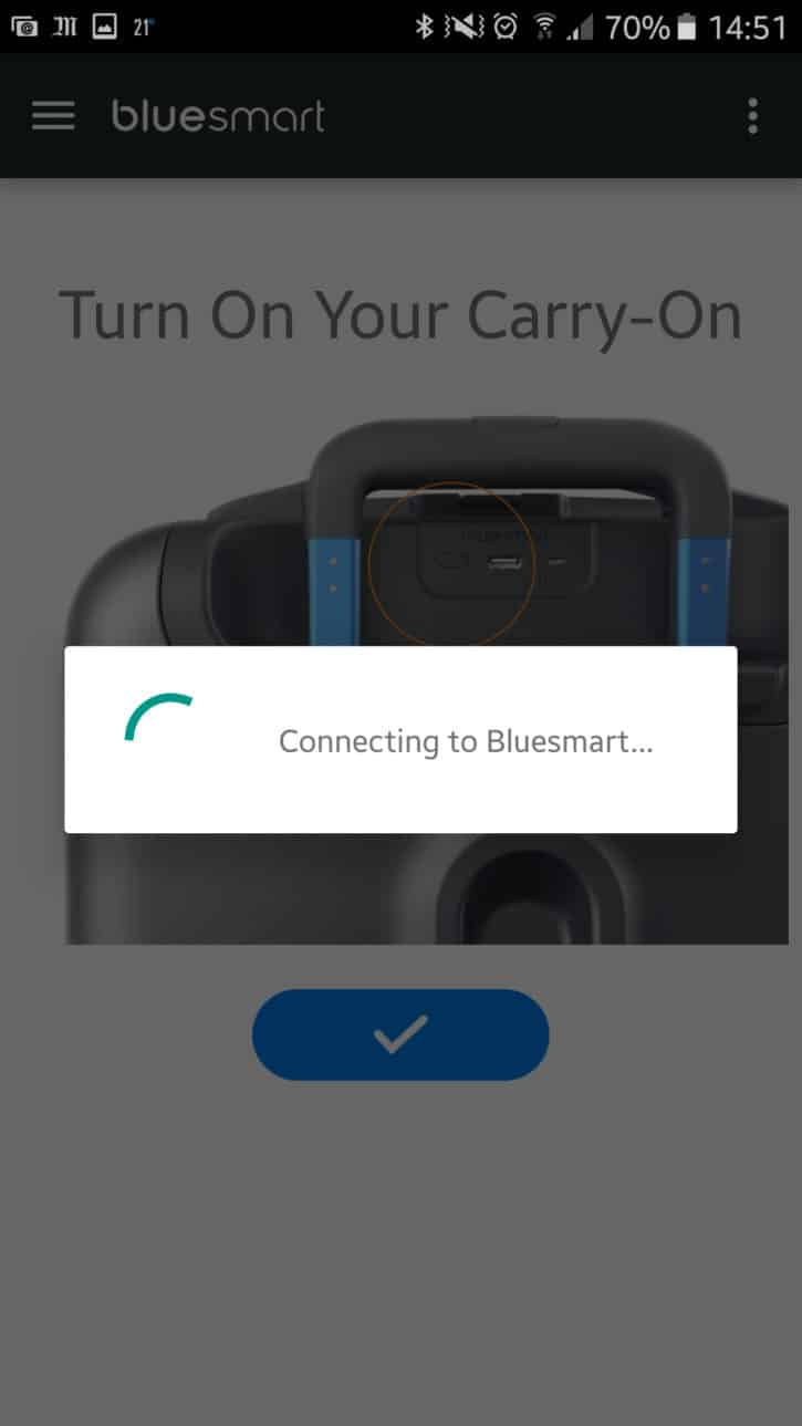Application Bluetooth