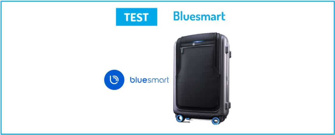 Test Bluesmart valise