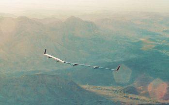 Aquila, le drone géant de Facebook a effectué son premier vol