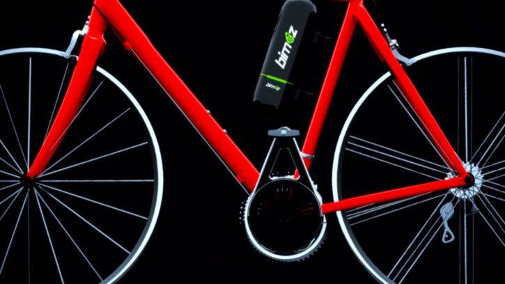 Le système Bimoz vous permet de vous mettre au cyclisme électrique.