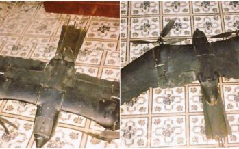 Un drone en forme d'oiseau tombé en Somalie