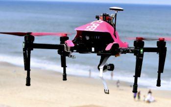 Un drone sauveteur pour aider les maîtres nageurs sur les plages