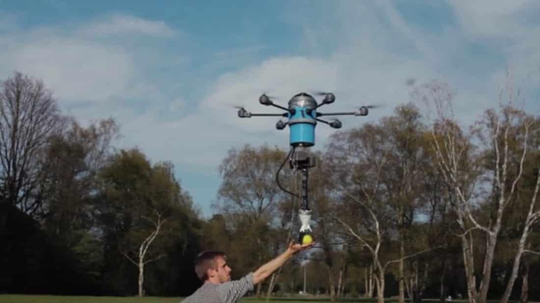 Le Mine Kafon Drone est un drone démineur