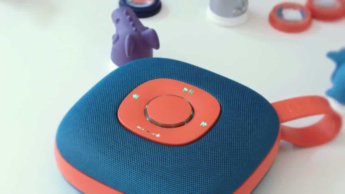 Le jukebox Jooki permet aux enfants d'écouter de la musique sans leurs parents.