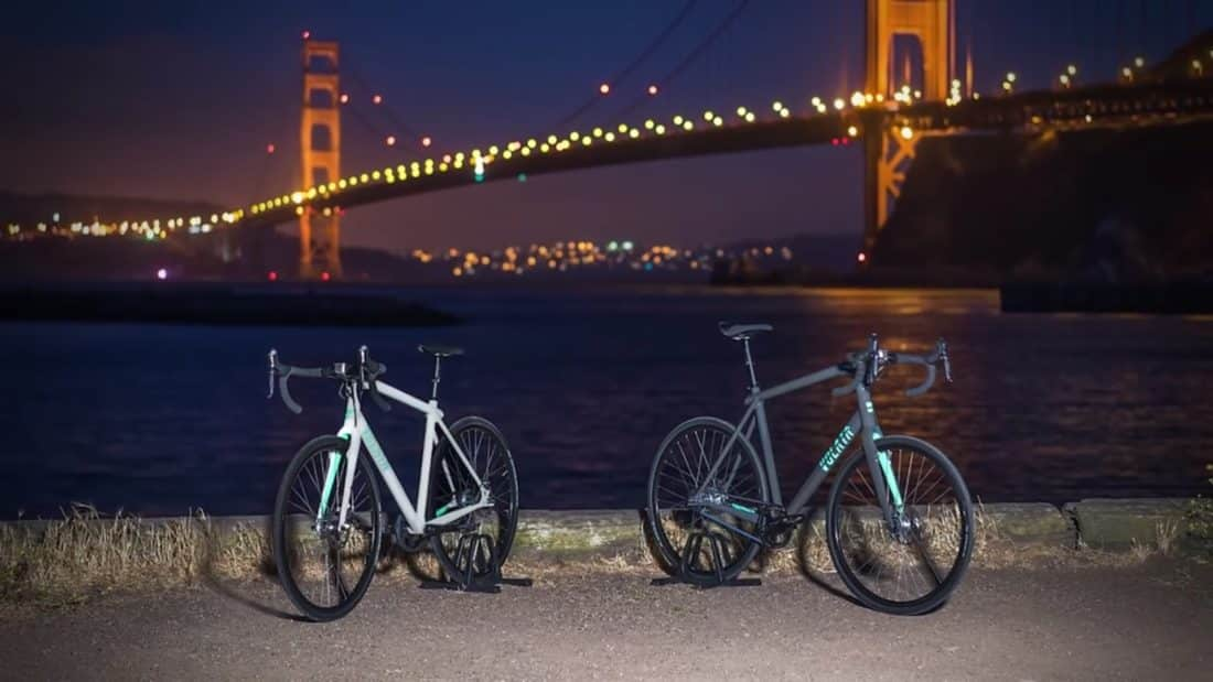 Les vélos Volata sont entièrement équipés et autosuffisants.