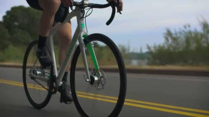 Le vélo Volata est n'a pas besoin d'être rechargé.