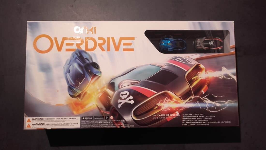 Unboxing anki overdrive boîte