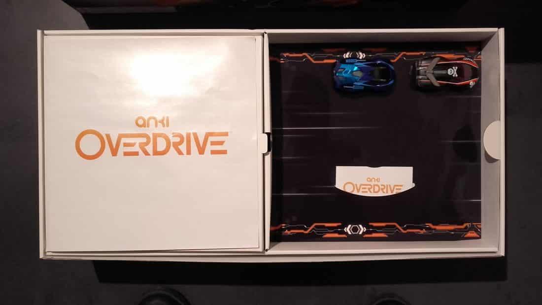 Unboxing anki overdrive intérieur