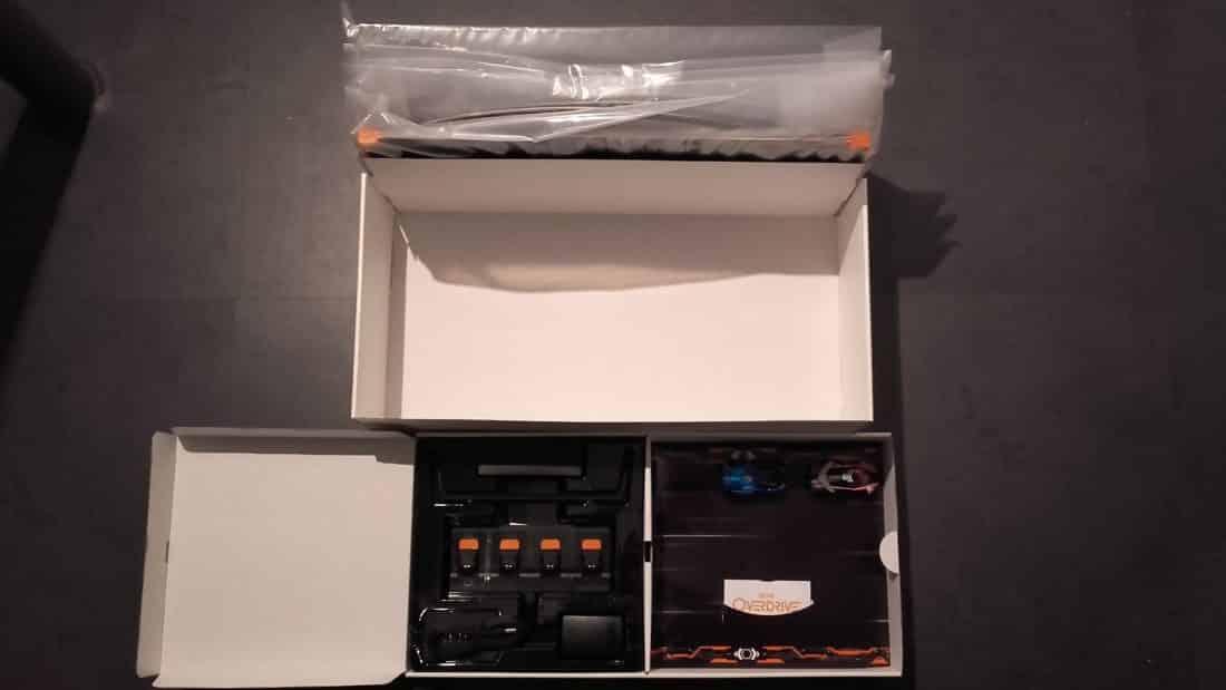 Unboxing anki overdrive accessoires boîte