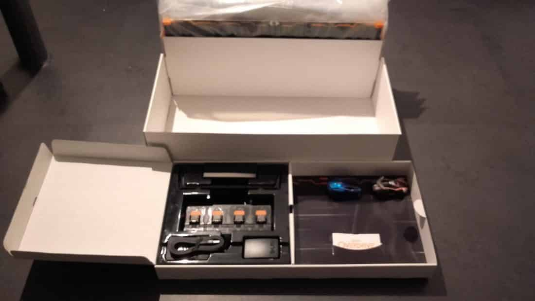 Unboxing anki overdrive chargeur