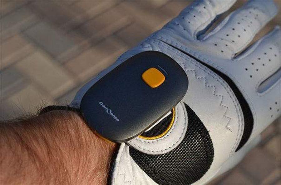 gant golf connecte golfsense zeep