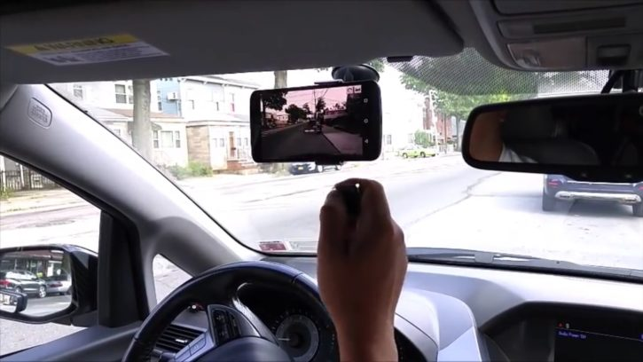 Track Taag transforme GPS voiture en dashcam
