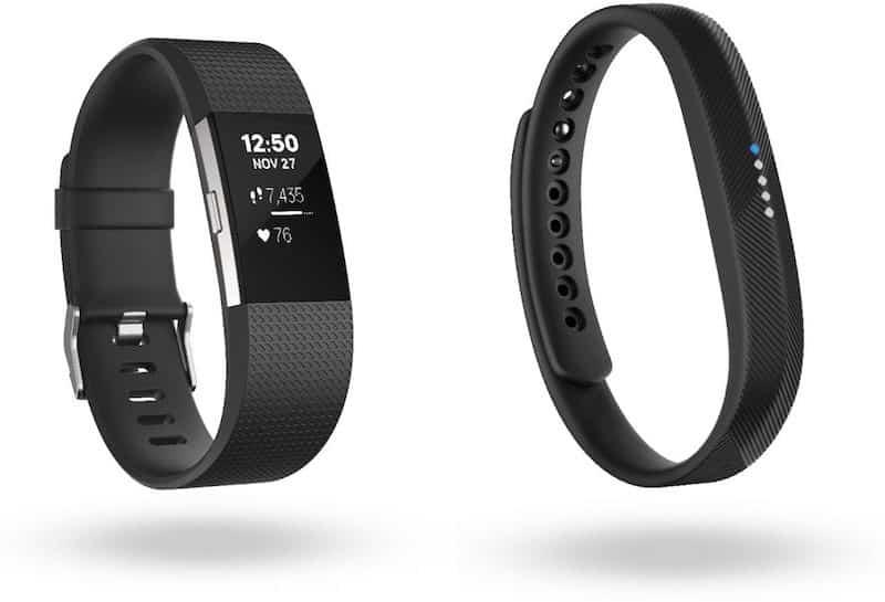 Les bracelets Fitbit Charge 2 et Fitbit Flex 2