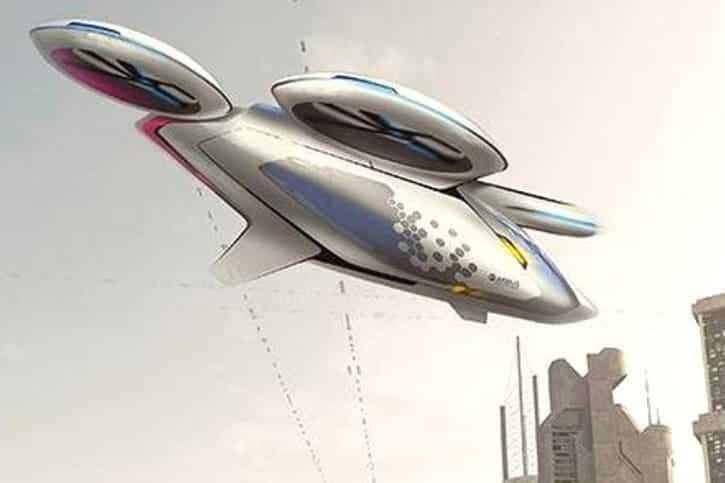 Voitures volantes Airbus