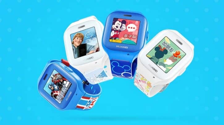 La Huawei Kids Smartwatch, conçue avec Disney trackers gps