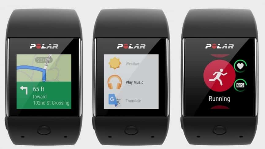 Polar M600, une montre sport Android Wear