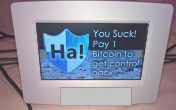 Alerte : un ransomware fonctionnel pour les thermostats connectés !