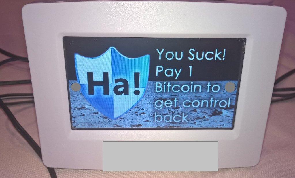 Un ransomware pour thermostat connecté a été démontré à la DefCon24
