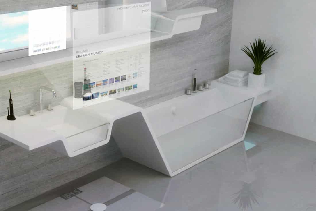 Google veut cr er une salle de bain connect e for Creer une salle de bain