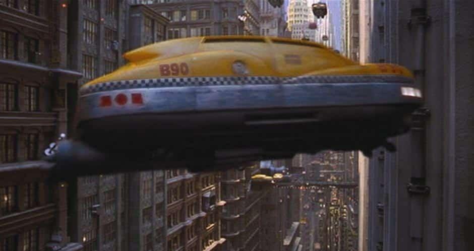Taxis volants voitures volantes Cinquième élément