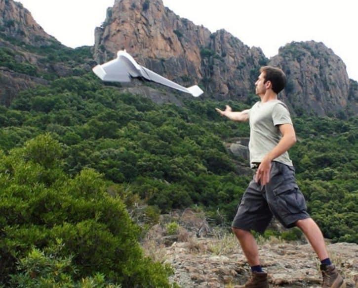officielles parrot disco décollage