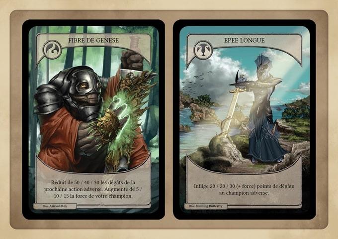 Malkrys arene eternite jeu cartes connecte