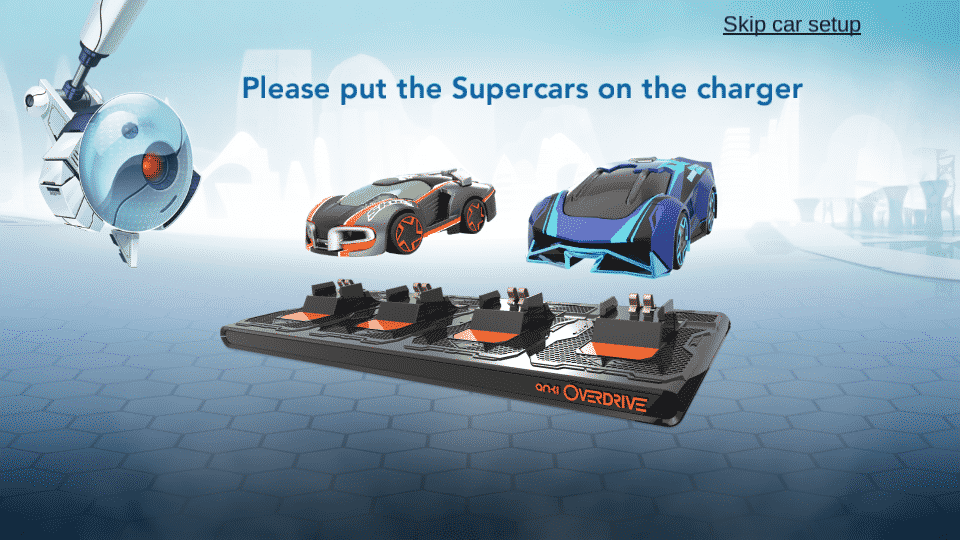 Application anki overdrive voiture chargeur