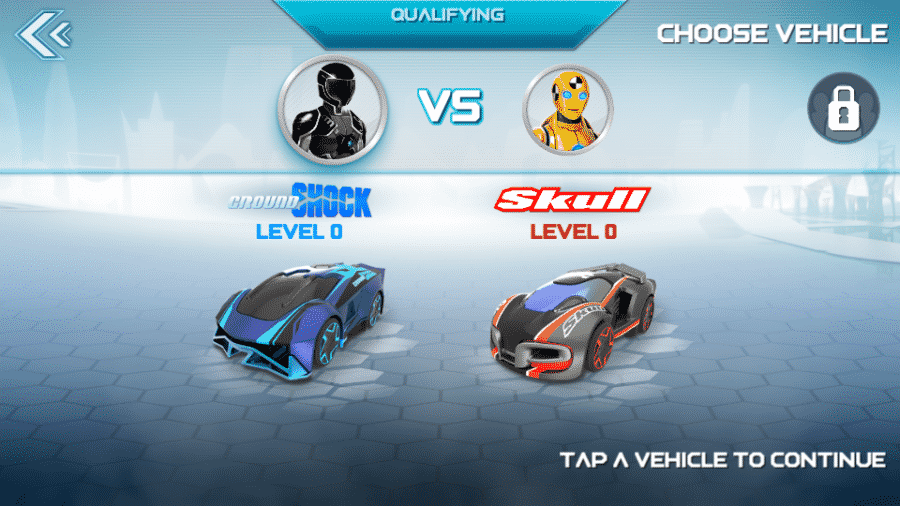 application anki overdrive début course