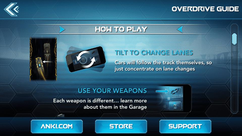 application anki overdrive comment jouer