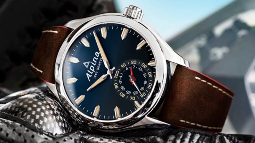 La montre connectée Alpina Horological
