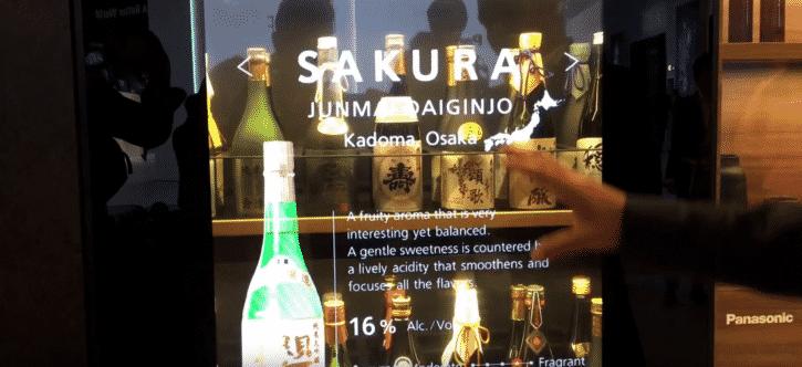cave à vin bouteille